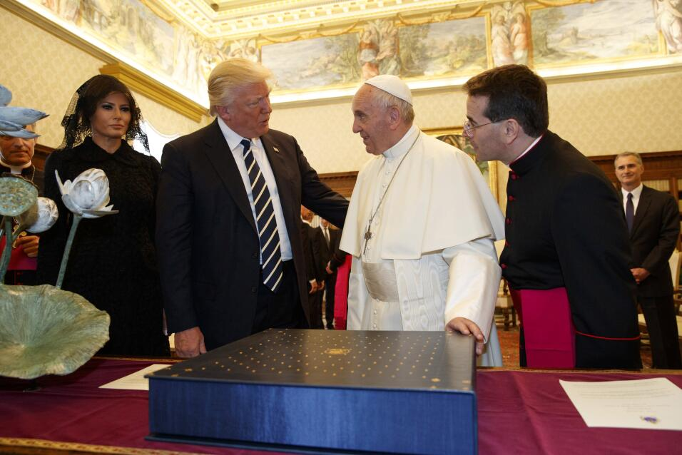 Trump y el Papa