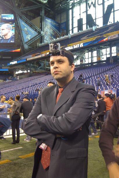 Los reporteros de NFL.com/Español también disfrutan de est...