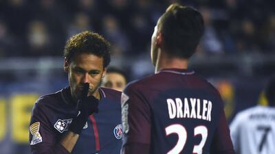 Neymar marcó en el triunfo del PSG