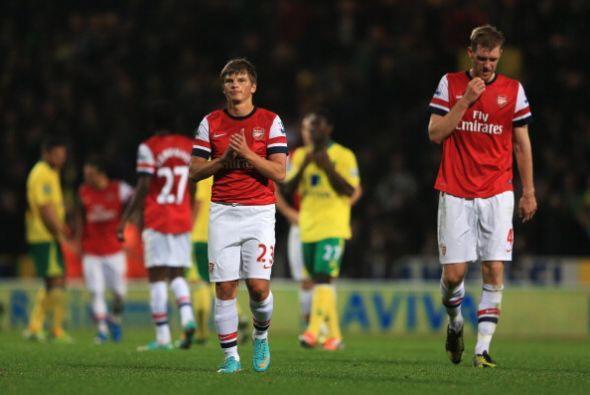El Arsenal desperdició buenas oportunidades y se tuvo que ir con las man...
