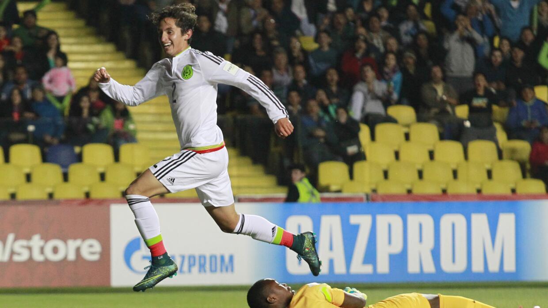 El gol de Diego Cortés fue considerado como el mejor del mundial...