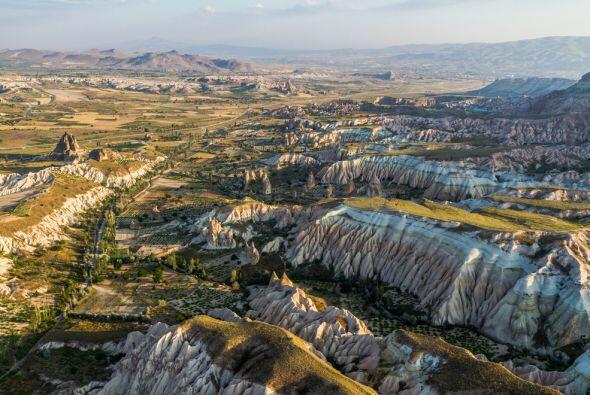 La región antigua de Anatolia en Cappadocia, Turquía