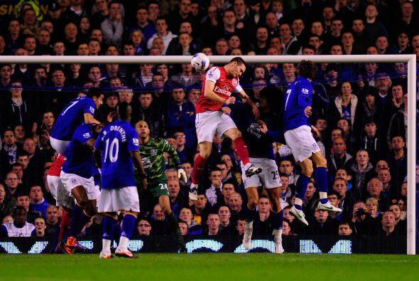 Apenas al minuto ocho se abría el marcador con un gol marcado de...