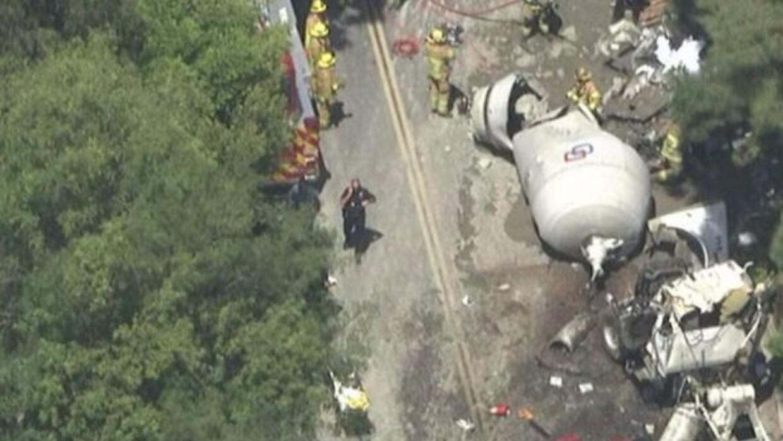 Un policía murió cuando su auto fue impactado por un camión en la zona d...