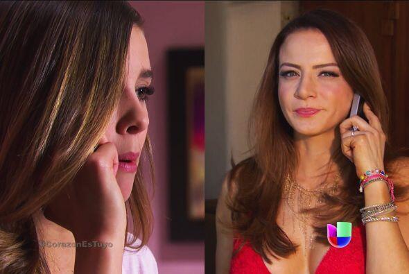 """Como buena """"Dr. corazón"""", Ana estuvo ahí para calmar """"el enojo"""" de Fanny."""