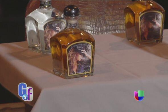 Esta es la presentación del tequila.