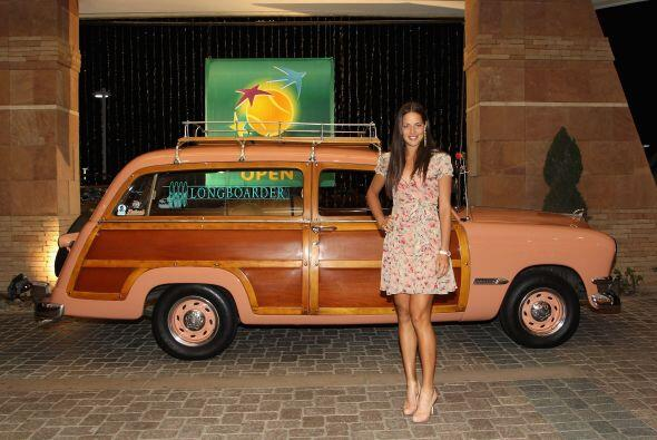 Ganadora en 2008, la hermosa serbia Ana Ivanovic.