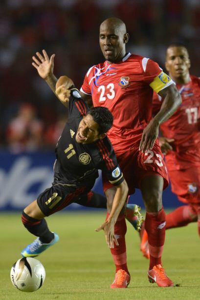 El 7 de junio del 2013 Panamá y México se enfrentaron en duelo correspon...