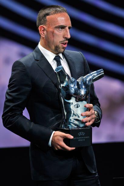 Cristiano tomó el relevo en el palmarés al francés Franck Ribery, quien...