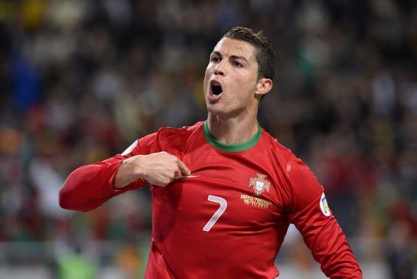 Cristiano marcó los cuatro tantos que los lusitanos le convirtieron a lo...