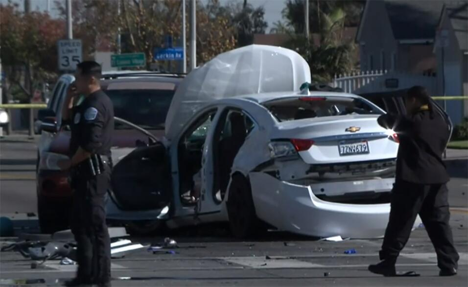 Accidente en Los Ángeles