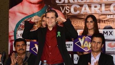 Carlos Cuadras campeón mundial supermosca.
