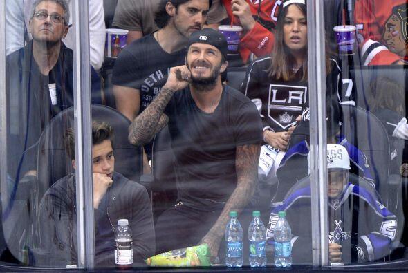 Si algo tiene claro David Beckham es que el dinero hay que ganárselo con...