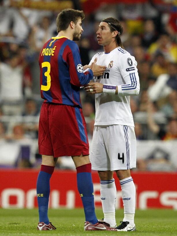 Amigos y Rivales, en mundos desiguales: Ramos y Piqué ramos2.jpg