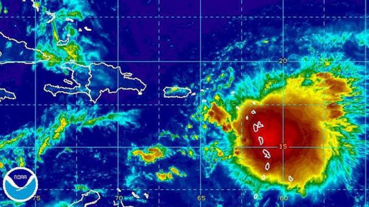 La tormenta tropical dejaría mucha lluvia para la isla