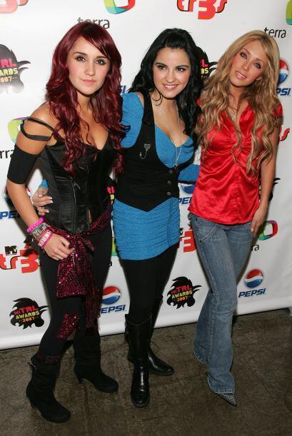 Dulce, junto a Maite Perroni y Anahí, tres bellezas que estaban e...