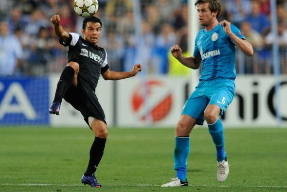 Málaga daba sus primeros pasos en Liga de Campeones en su historia y rec...