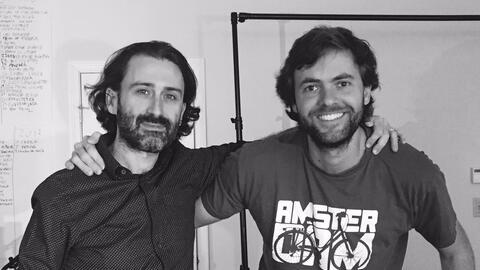 U-LAB's co-creative directors Javier Limón and Nacho González.