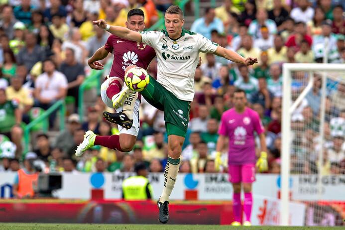 Santos se lleva una infartante victoria ante el América Bruno Valdez de...
