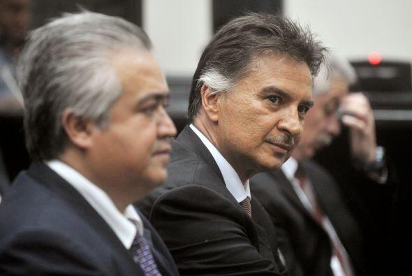 Alfonso Portillo fue acusado junto a su ex ministro de Finanzas, Manuel...