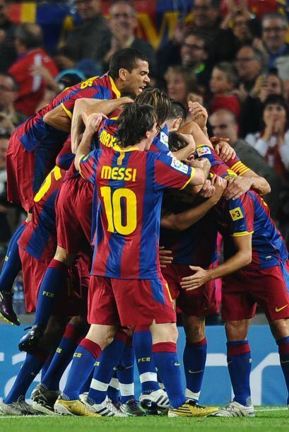 El Barcelona mostró su chapa de candidato y le ganó al Valencia 2 a 1.