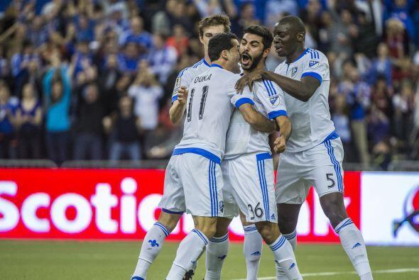 En el duelo de ida de semifinales disputado el 18 de marzo en Montreal,...