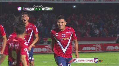 Edgar Andrade anota para Veracruz ante León