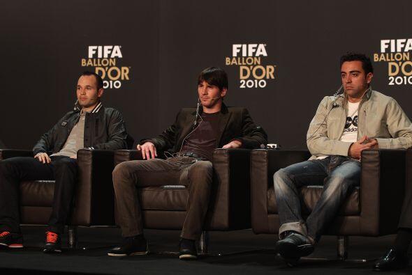 Los tres jugadores del Barcelona no querían hacer polémica sobre quién s...