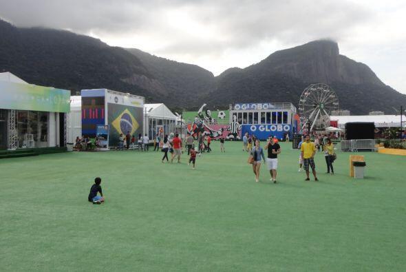 """El """"Parque de la Bola"""" en Río."""