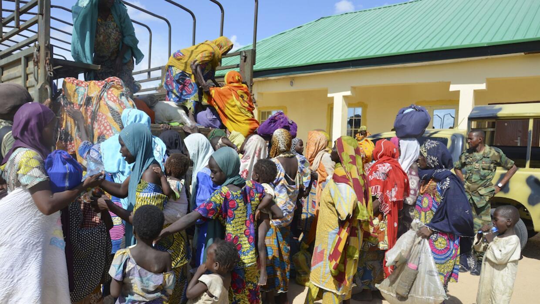 Niñas secuestradas por Boko Haram en Nigeria el 14 de abril de 2014