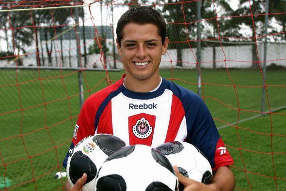 En el último torneo del  'Chicharito' en México el delantero acumuló 10...