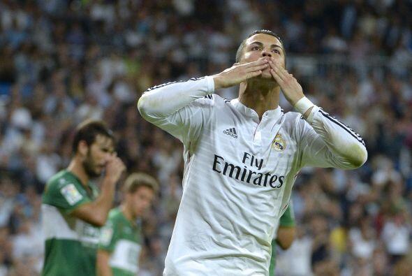 Ronaldo lograba así su octavo gol de la temporada y daba completa tranqu...