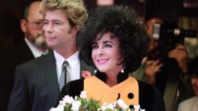 Liz Taylor, la diva de ojos violeta, tuvo ocho matrimonios.