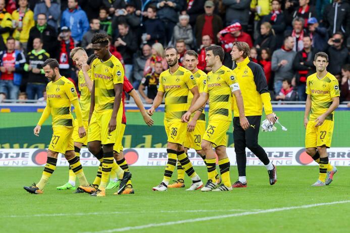 16. Borussia Dortmund (Alemania): 275 millones de euros
