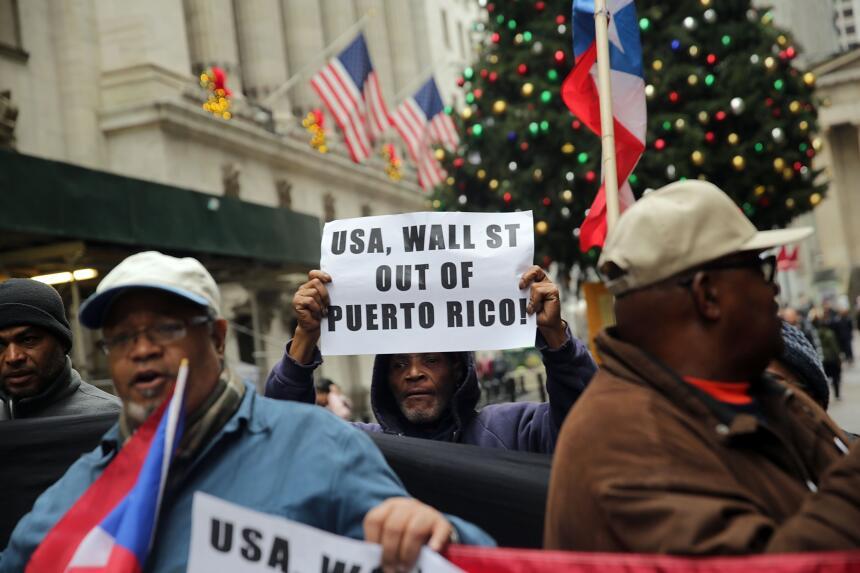 Boricuas protestan en WS