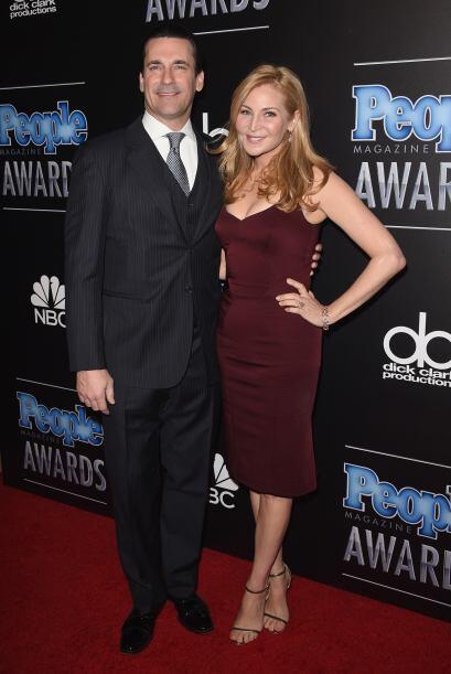 Jon Hamm y Jennifer Westfeldt se veían bastante bien. Hoy les toc...