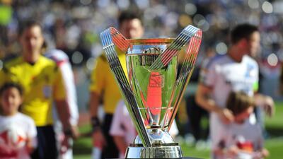 El trofeo de la MLS