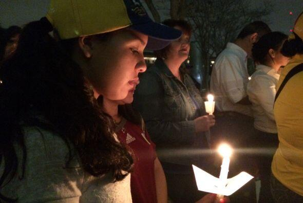 Por quinto día consecutivo, la comunidad venezolana de Houston se congre...