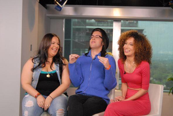 Las risas y carcajadas fueron parte de esta divertida entrevista, donde...