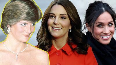 Pobre Kate, cuando no la comparan con Lady Di lo hacen con Meghan Markle
