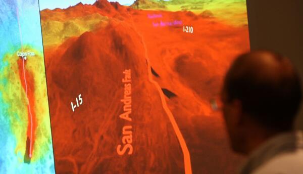 Científico simula las ondas sísmicas de la falla de San Andrés