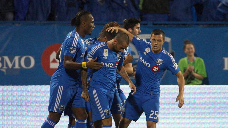 Montreal Impact celebra triunfo en casa