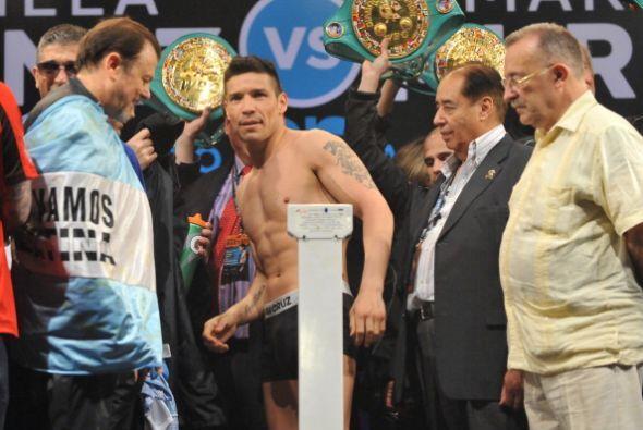 Martínez recibió el apoyo de toda la gente.