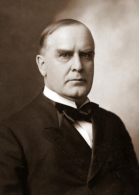 Se puede decir que William McKinley (1843–1901) fue el inventor del Cuba...