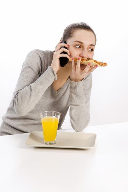 """""""Es básico. Cuando estás cenando con tu marido y él empieza a responder..."""
