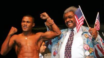 Félix Trinidad y Don King.