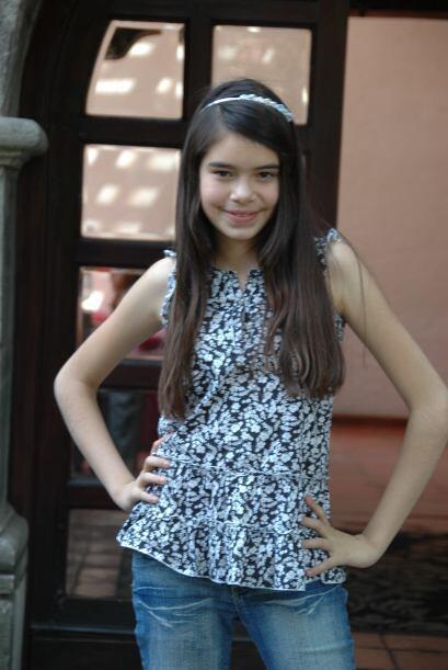 La pequeña podría convertirse en una gran estrella pues posee un talento...