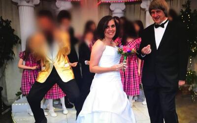Foto de una fiesta de los Turpin, acusados de torturar a sus 13 hijos en...