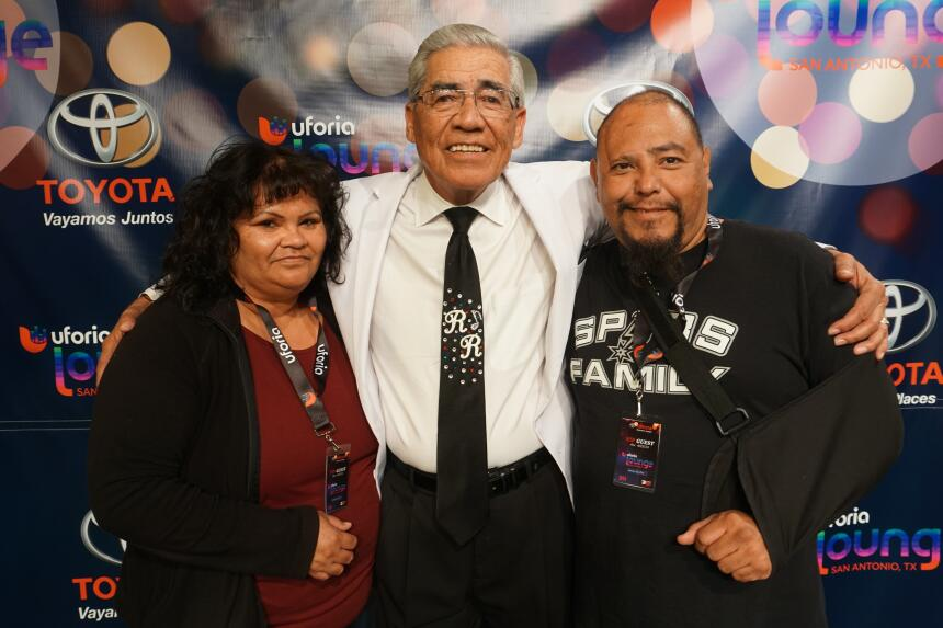 Lucky KXTN 107.5 Listeners Got Their Chance To Meet Ruben Ramos After Hi...