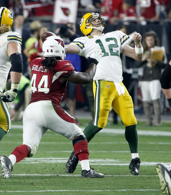 Las mejores imágenes del Packers-Cardinals Playoff Divisional NFC